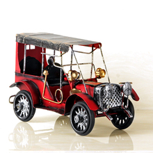 Restore ancient ways, wrought iron metal car models Diecast Metal Alloy Modle Toys For Children Gifts Free Shipping(China)