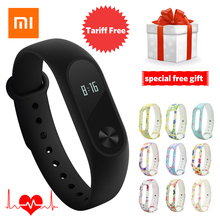 Original Xiaomi Mi Band 2 in Stock Smart Wristband Fitness Bracelet OLED Touchpad Pedometer Heart Rate Monitor Mi Band 2 Xiao mi