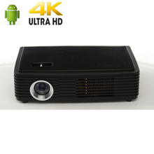 Luxcine Z4000 3D 4K Projector Full HD Video game Projector Bluetooth WIFI Home Theater  Moive LED Beamer free 3D glasses as gift