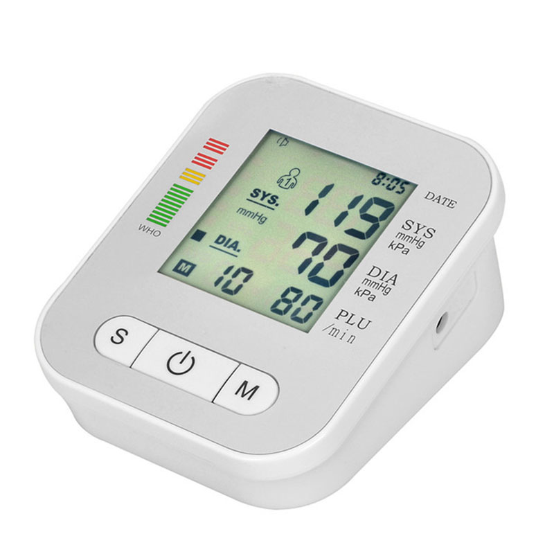 Digital Arm Blood Pressure Monitor Household Health Care Electronic Tonometer Sphygmomanometer Measurement Pulse Monitors 15