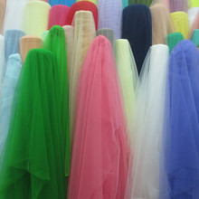 Warp mesh cloth / wedding dress net fabric material / encryption mesh fabric manufacturers wholesale/ free shipping(China)