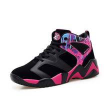 Woman Brand Outdoor Basketball Shoes Black Pink Designer Sport Trainers Women Comfortable Basketball Training Sneakers Ladies