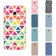 For Samsung Galaxy A3 2017 Phone Case For Galaxy A320 Fundas Transparent SM-A320F Ultra Thin Cover Square Diamond Pattern