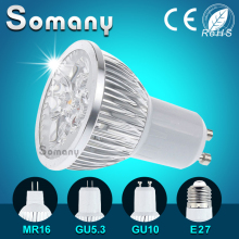 GU10 GU5.3 E27 220V 110V Support Dimmer 3-15W Aluminum Led Spotlight Dimmable LED Bulb Home Bombillas Lamparas MR16 12V Led Lamp