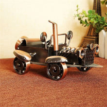 HAOCHU Diecast Vintage Classic Car Model Toy Vehicle Collection Gift for Birthday Coffee Shop Home Bookshelf Decoration