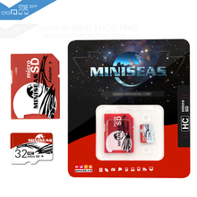 2016 Miniseas 3500 Real Capacity Dragon Card 8GB 16GB 32GB Memory Card TF Card Micro SD Card  Free Adapater