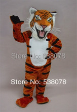 Wild Tiger Mascot Costume Adult Size Wild Animal Theme Carnival Party Cosply Mascotte Mascota Fit Suit Kit FREE SHIP SW1068