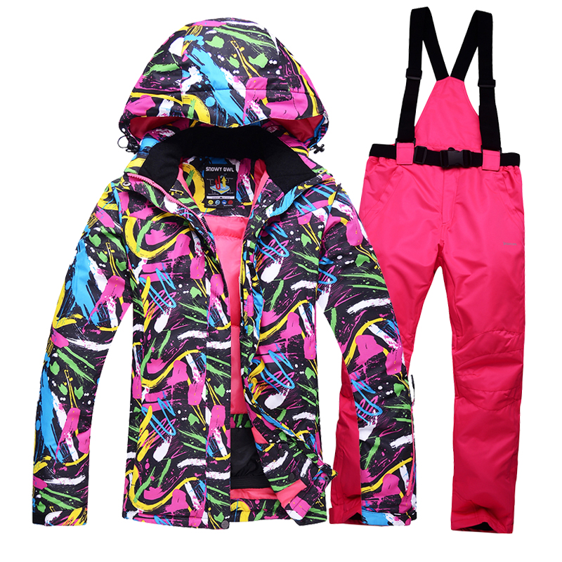 High quality Womens ski suits Men couple clothes thick warm ski jacket and pants windproof waterproof outdoor sports thicker<br><br>Aliexpress