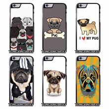 Pug dog Cover Case for Sony Z1 Z2 Z3 E5 Z5 Compact C3 C4 C5 M2 M4 T3 X XA XZ Performance huawei P8 P9 Lite(China)