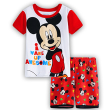 children cute mickey baby kids girls clothes nightwear pajamas for boy girl's pyjamas sleepwear suit pyjamas kids pajama sets