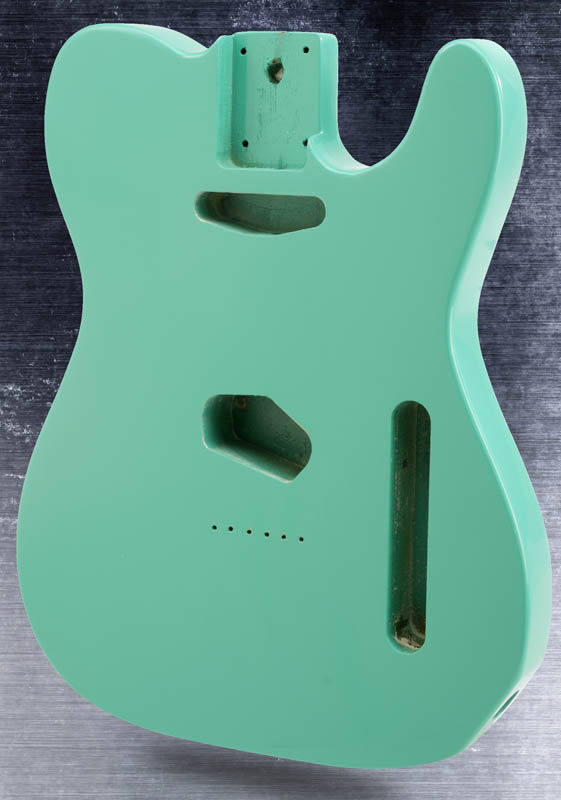 light green color TL guitar body<br>
