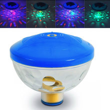 SL-010 Underwater Light Disco LED Pond Pool Light Bathtub Swim Spa Tub Floating Lamp For party dining hall Show bar(China)