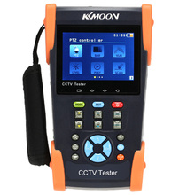 KKmoon 3.5in LCD CCTV Camera Tester Video Monitor PTZ/Cable Tester/Video Level Meter/IP Scan/Port Flashing HVT-2601