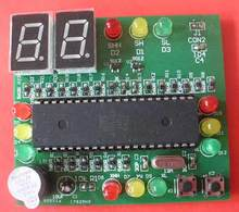 Intelligent traffic light control kit parts graduate curriculum design of electronic technology electronic technology practice