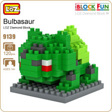 LOZ Diamond Blocks Bulbasaur Figure Plastic Monster Toys Buy Toys China Building Blocks Diy Creative Bricks Nanoblock Set 9139