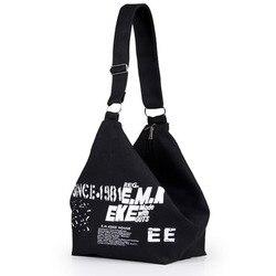Женская холщовая туристическая сумка через плечо