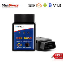 elm 327 v 1.5 bluetooth Russian-speaking obd Scanner FHOBD2 Real ELM327 V1.5 Auto Code Reader ELM 327 Works On Android Universal
