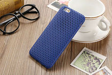 For iPhone 7 Plus Case Soft Air Net Grid Cover Light Soft Regular ARMOR Drop Proof Free a Screen Film Protector Hot