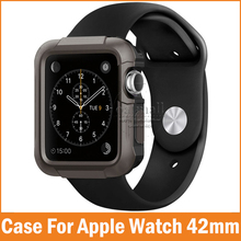 Rugged Cover Armor For Apple Watch Series 1 Case 42mm 38mm for iwatch Cases Bumps Scratches Shockproof Screen Protective Skin