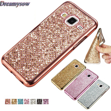 Buy Fashion Soft Case Glitter Bling Back Cover Samsung Galaxy S4 S5 S6 S7 Edge S8 Plus A3 A5 A7 2016 2017 J1 J2 J5 J7 Prime Capa for $1.23 in AliExpress store