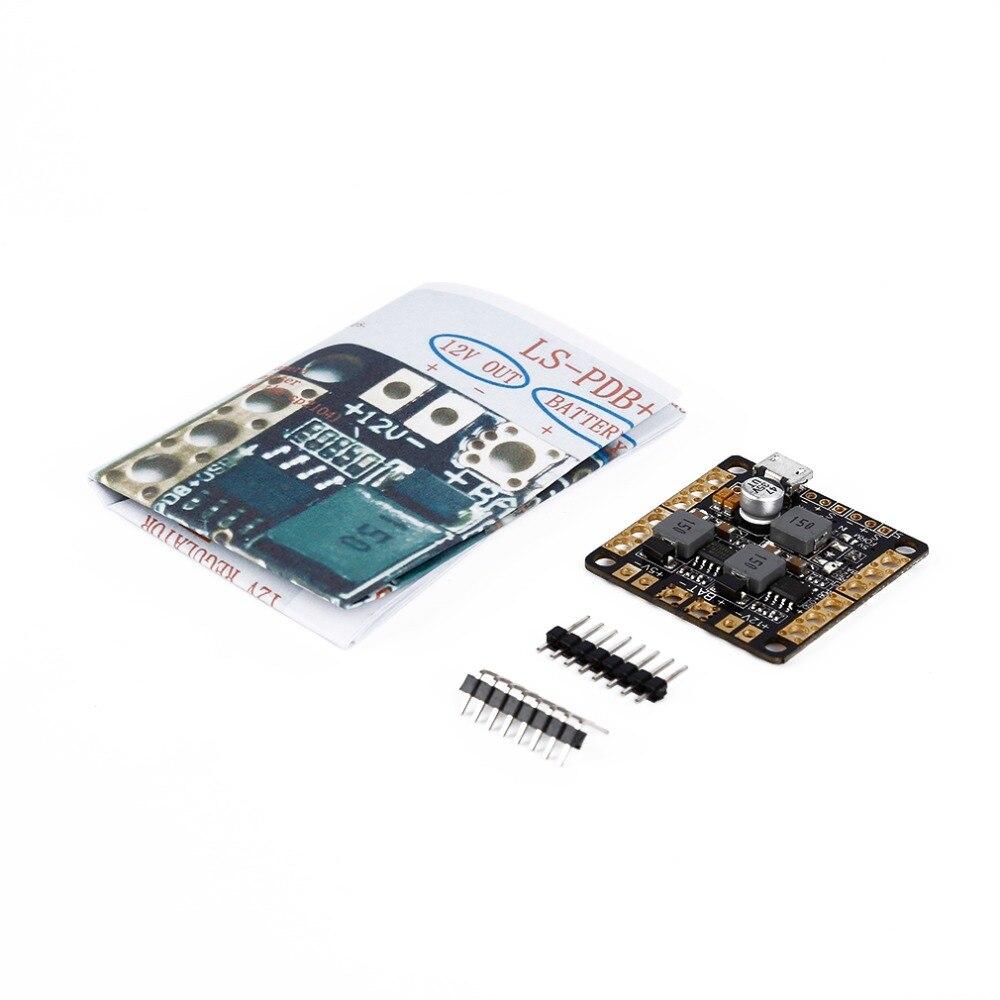 1set NAZE32 F3 Power Distribution Board PDB With Filter BEC Output 5V 12V 3A<br><br>Aliexpress