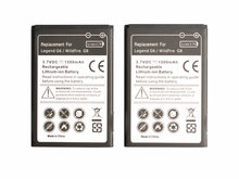 Ciszean 2pcs/lot 1500mah BA-S440 BB96100 BA-S420 Replacement Battery For HTC Evo 4G Legend G6 Wildfire G8 A3333 A6363 A7272(China)