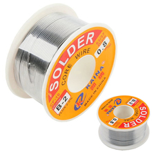 High Quality 63/37 Rosin Core Solder Wire Flux 2% Tin Lead Solder Iron Welding Wire Reel 0.5mm-2.0mm 50g/100g(China)