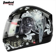 Tanked Racing design Jesus motorcycle Helmet  MOTO full face dirt biker motorbike motocross off road safety helmets black M XXL