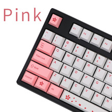 Usb-Keyboard Pink Cherry White Wired 87/104-Keys And Dye Sub BGKP Mechanical for New-Arrival