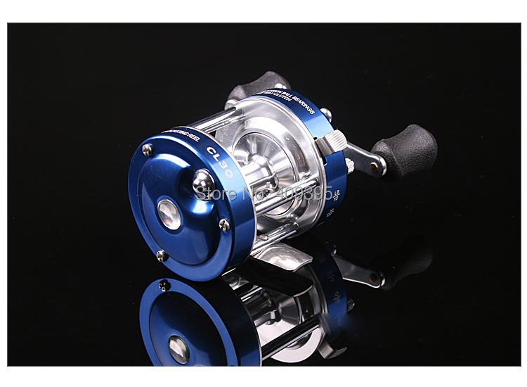 1pc size60 Long casting fishing reel Trolling fishing reel Right handle/Left handle Free shipping<br>