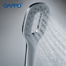 Gappo 1Pc High Quality Square Shower Heads bathroom fixture hand shower heads ABS in chrome Plated water saving shower heads G24