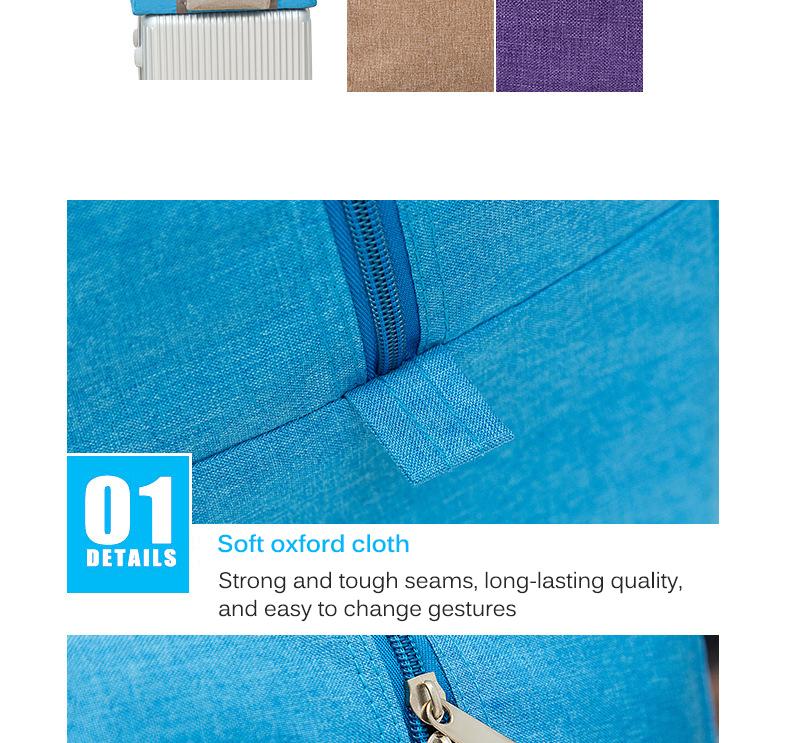 foiding bag detail