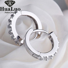 New Arrival 925 Silver Set Lnlaid Imitation Diamonds Trendy Noble Earrings For Women/Female as Gift Wholesale GSZW0056