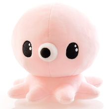 K-Drama Legend Of The Blue Sea Kids Lovely Plush Animals Toy 17cm Pink Blue Octopus Plush Stuffed Doll(China)