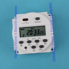 Digital time switching time controller CN101A DHC15 THC-101A Digital LCD Timer DC 12V 8A TO 16A timers(China)