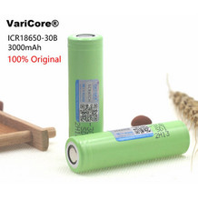 Varicore new original 3.7V 3000 mAh 18650 lithium rechargeable battery. Battery flashlight; Battery for mobile devices