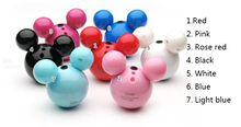 2016 hotselling Mickey mini MP3 player TF / SD card slot so Lovely (MP3 only) mp3 music playe