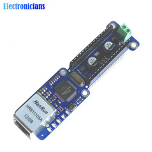 Standard Ethernet Nano Shield W5100 Ethernet LAN Network Module Micro-SD Support TCP UDP For Arduino V3.0 R3 UNO Mega 2560 One(China)