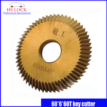16mm*60mm*6mm for BW-9/RH-2/2AS/238BS Key Machine Wheel cutters blade locksmith tools key cutter machine