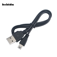 kebidu Mini USB 5 Pin Sync Cable USB Data & Charger Cable to USB 2.0 A-Female for MP3/Mp4 Digital Camera External Hard Drives(China)