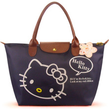 women female ladies casual bags leather hello kitty handbags shoulder tote bag bolsas femininas couro