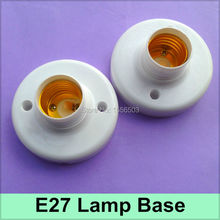 50 Pcs/lot E27 Lamp Bases Screw Lamp Holder E27 Fitting Socket E27 LED Aging Test Fix Lamp Base