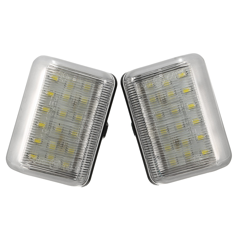1 Pair LED Number Plate Lamp Bulb License  Plate Light Xenon White For Mazda CX-5 CX-7 Speed6 12V<br><br>Aliexpress