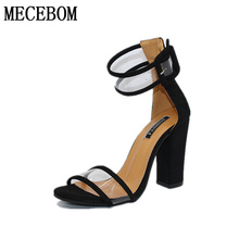 2017 shoes Women Summer Shoes T-stage Fashion Dancing High Heel Sandals Sexy Stiletto Party Wedding Shoes White Black 2258W