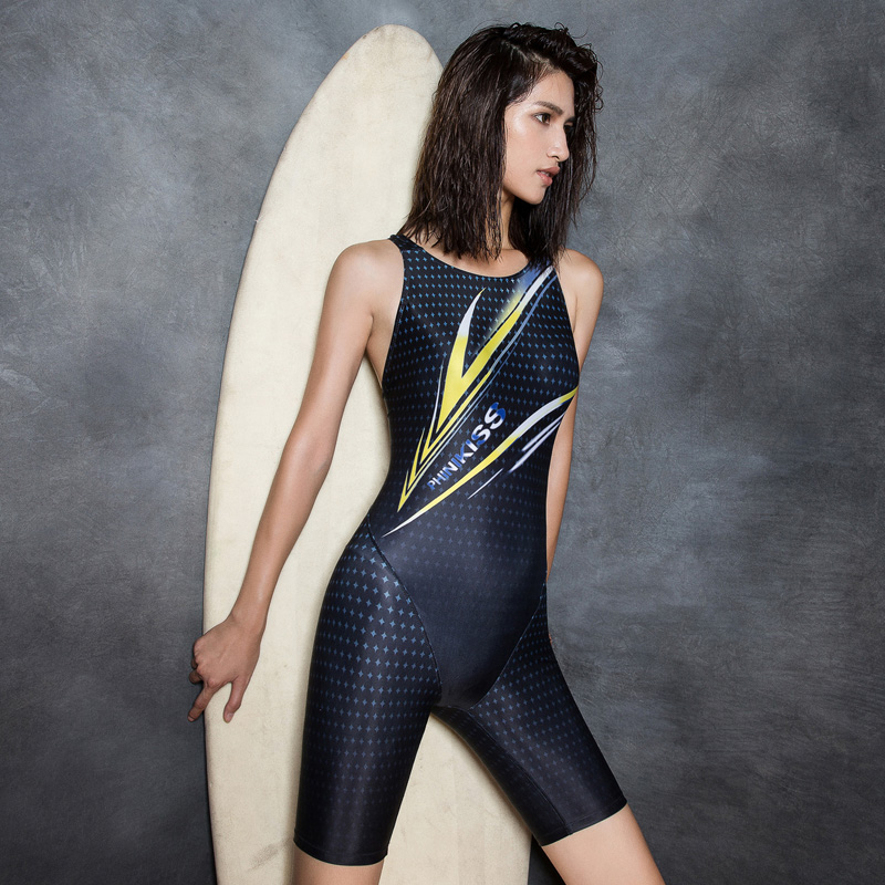 One Piece Swimsuit Black Sportswear Hollow Out Backless Swimwear Women Bodysuit Beachwear Rash Guard<br>