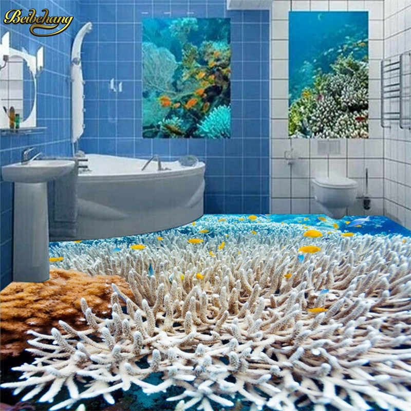 Fish bathroom
