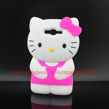 Classical Hello Kitty Design Soft Silicone Mobile Phone Cover Case For Samsung Galaxy Grand Prime G530 G530H