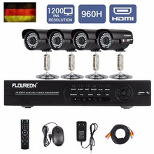 8CH 960H CCTV kits Onvif super DVR CCTV DIY kits Outdoor 900TVL Camera Security Kit home security CCTV recording system