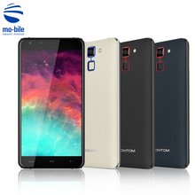 Homtom HT30 3G Smartphone 5.5 inch 2.5D Arc 1280*720 HD Screen Android 6.0 MT6580 Quad Core 1GB+8GB Fingerprint Mobile Phone(China)