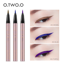 O.TWO.O Colorful Purple Liquid Eyeliner Eye Make Up Super Waterproof Long Lasting Eye Liner Easy to Wear Party Makeup(China)